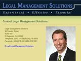 Kurt Obermeyer and LegalManagementSolutions.com hit the Web