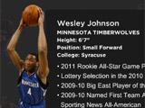 Landmark and Wesley Johnson